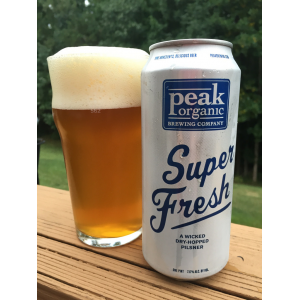 peak organic super fresh beer